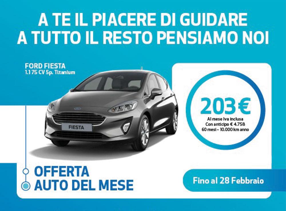 Auto del Mese - Ford Fiesta