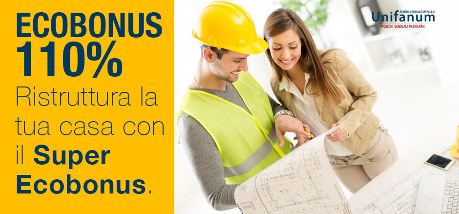 Ecobonus 110% per ristrutturare la tua casa