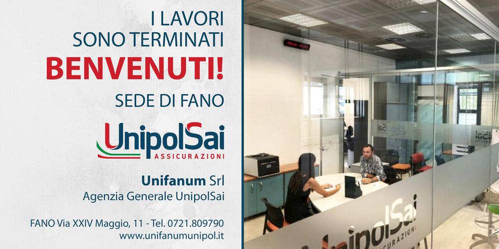 La nuova sede UnipolSai a Fano